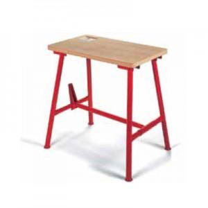 Ridgid radni stolovi, sklopivi, teški uvjeti primjene, drvena radna površina, otporna na vodu i prašinu, cjevaste noge