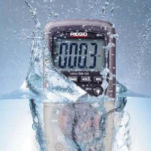 Ridgid digitalni multimetar sa puno funkcija, alat za elektičare, vodonepropustan